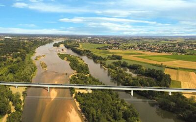 Découvrez la nouvelle voie sur la Loire : un défi technique et environnemental maîtrisé !